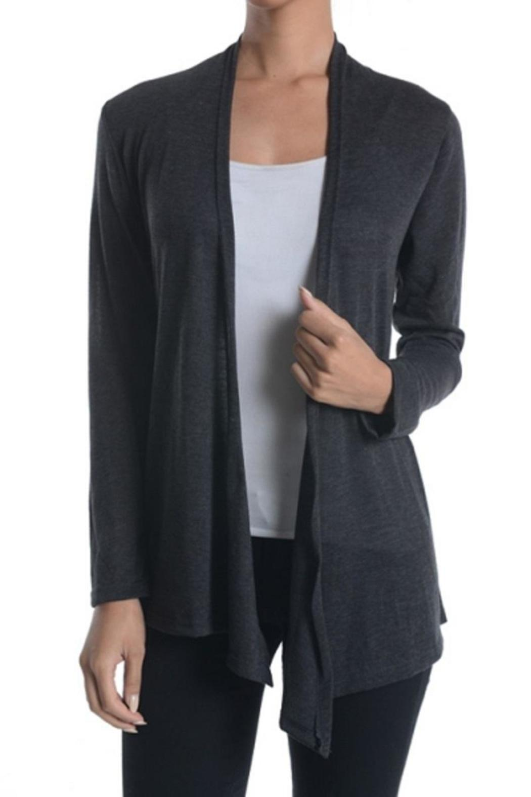 Chris & Carol Open Front Cardigan from Montclair by Oasis — Shoptiques