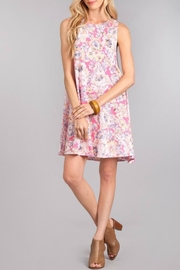 Chris & Carol Sleeveless Floral Aline - Front cropped