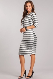 Chris & Carol Striped Knit Dress - Other