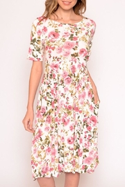 Chris & Carol Summer Blossom Pocket Dress - Product Mini Image