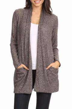Shoptiques Product: Taupe Knit Cardigan