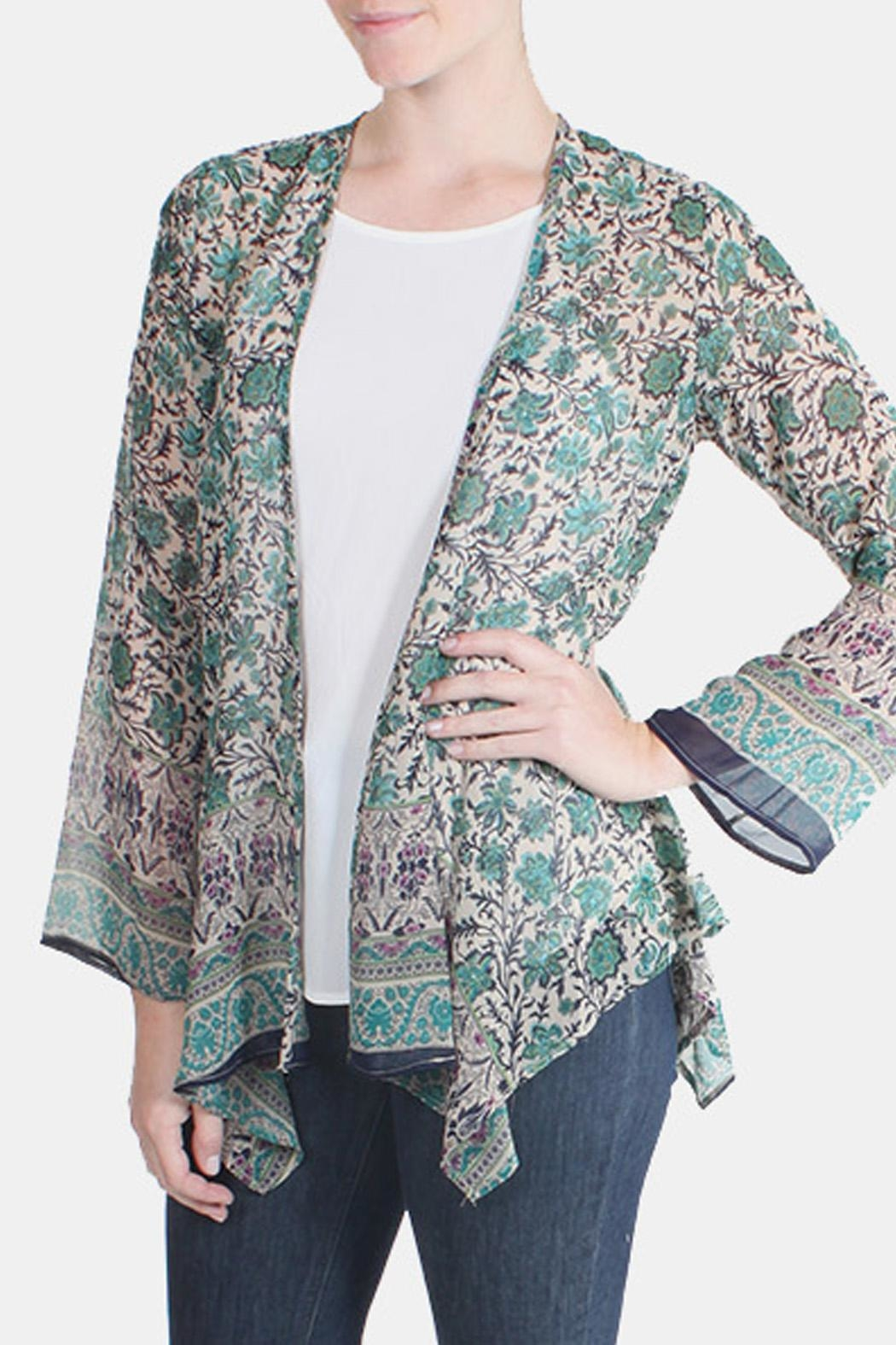 Chris & Carol Teal Kimono-Cardigan from Los Angeles by Goldie's ...