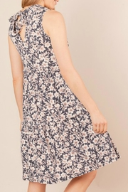 Chris & Carol Tiered Floral Dress - Front full body
