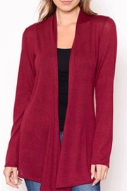Chris & Carol Apparel Burgundy Knit Sweater - Product Mini Image