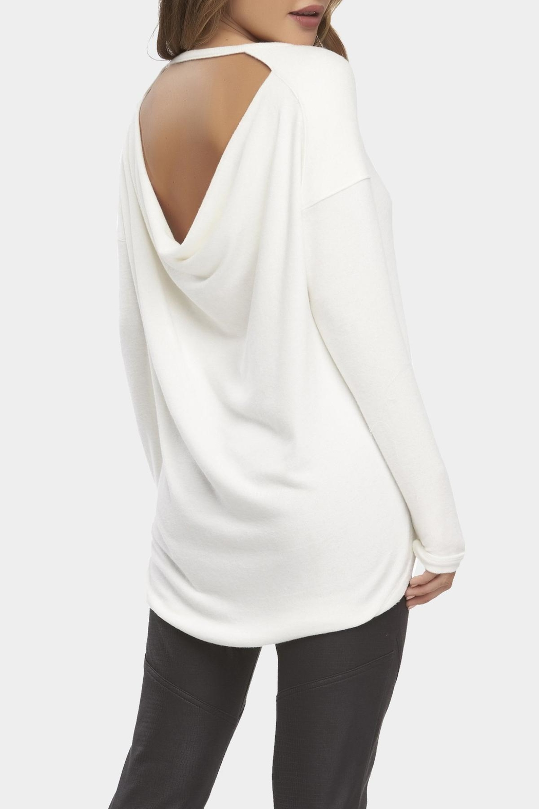 Tart Collections Christian Drape-Back Sweater - Front Full Image