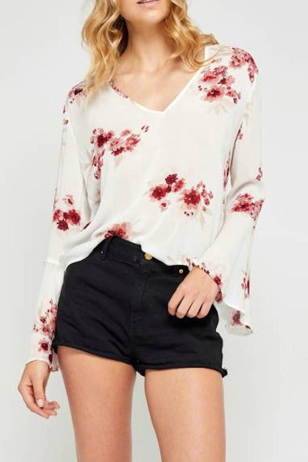 Gentle Fawn Christie Bell-Sleeved Blouse - Main Image