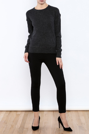 Shoptiques Product: Charcoal Cashmere Sweater - Front full body