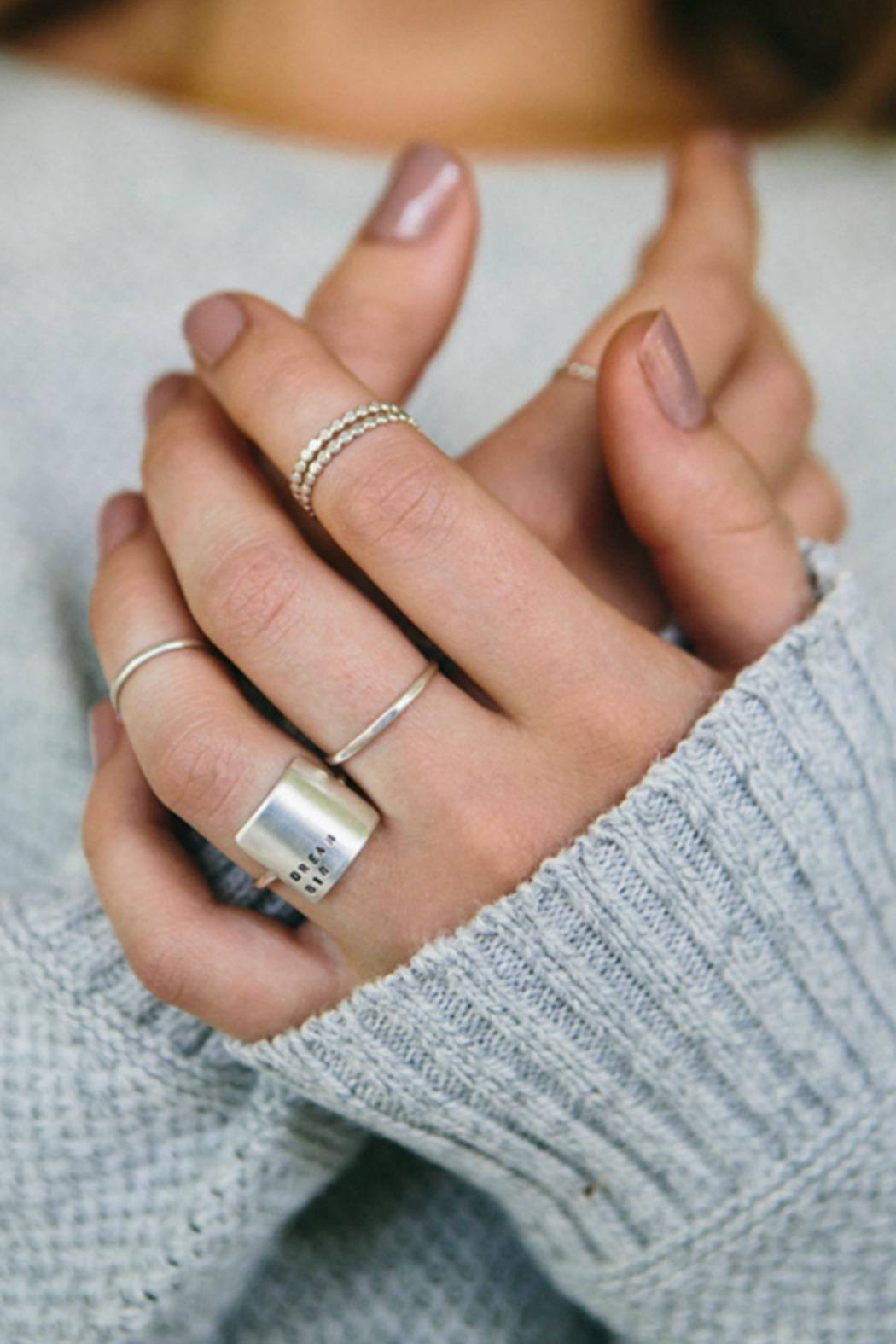 Christina Kober Designs Choose Joy Ring - Front Full Image