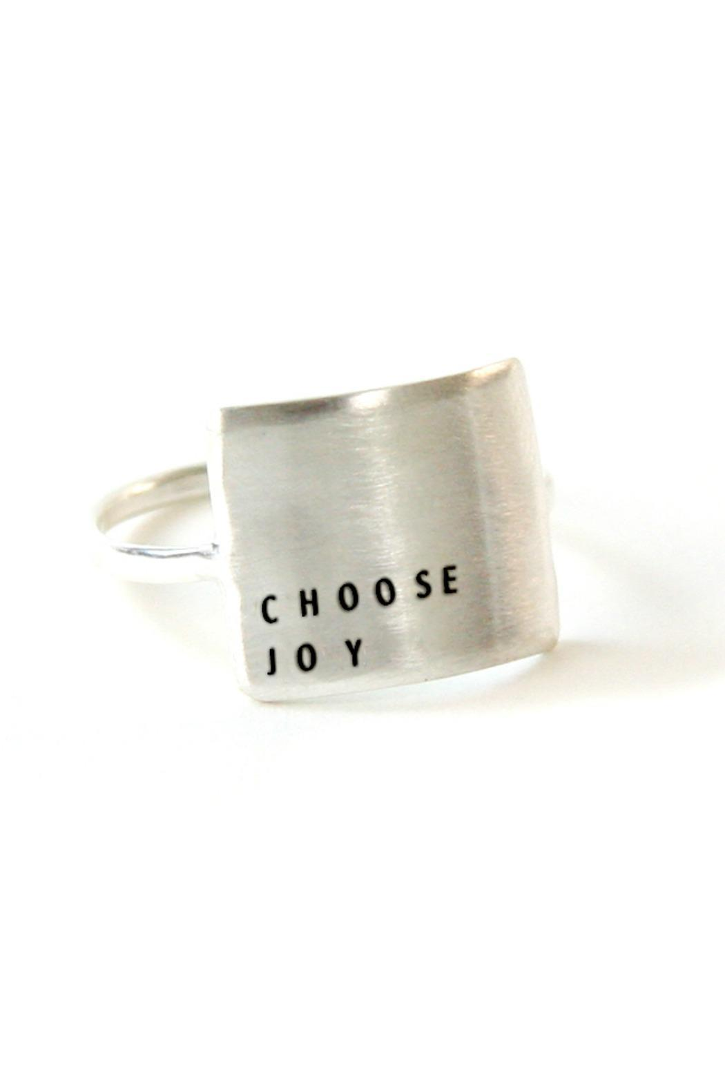 Christina Kober Designs Choose Joy Ring - Front Cropped Image