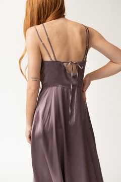 Christine Alcalay Strappy Wrap Dress - Alternate List Image