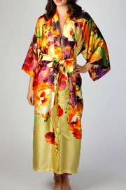 Christine Designs Silk Long Robe - Front cropped