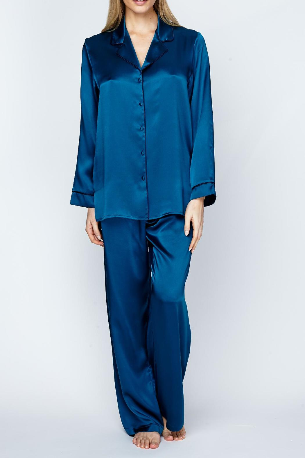 Christine Of Vancouver Classic Silk Pajamas From Canada By
