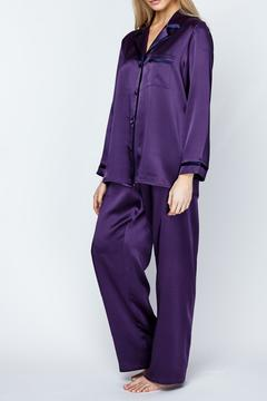 Christine of Vancouver Classic Silk Pajamas - Product List Image