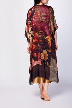 Christine of Vancouver Long Kimono - Alternate List Image