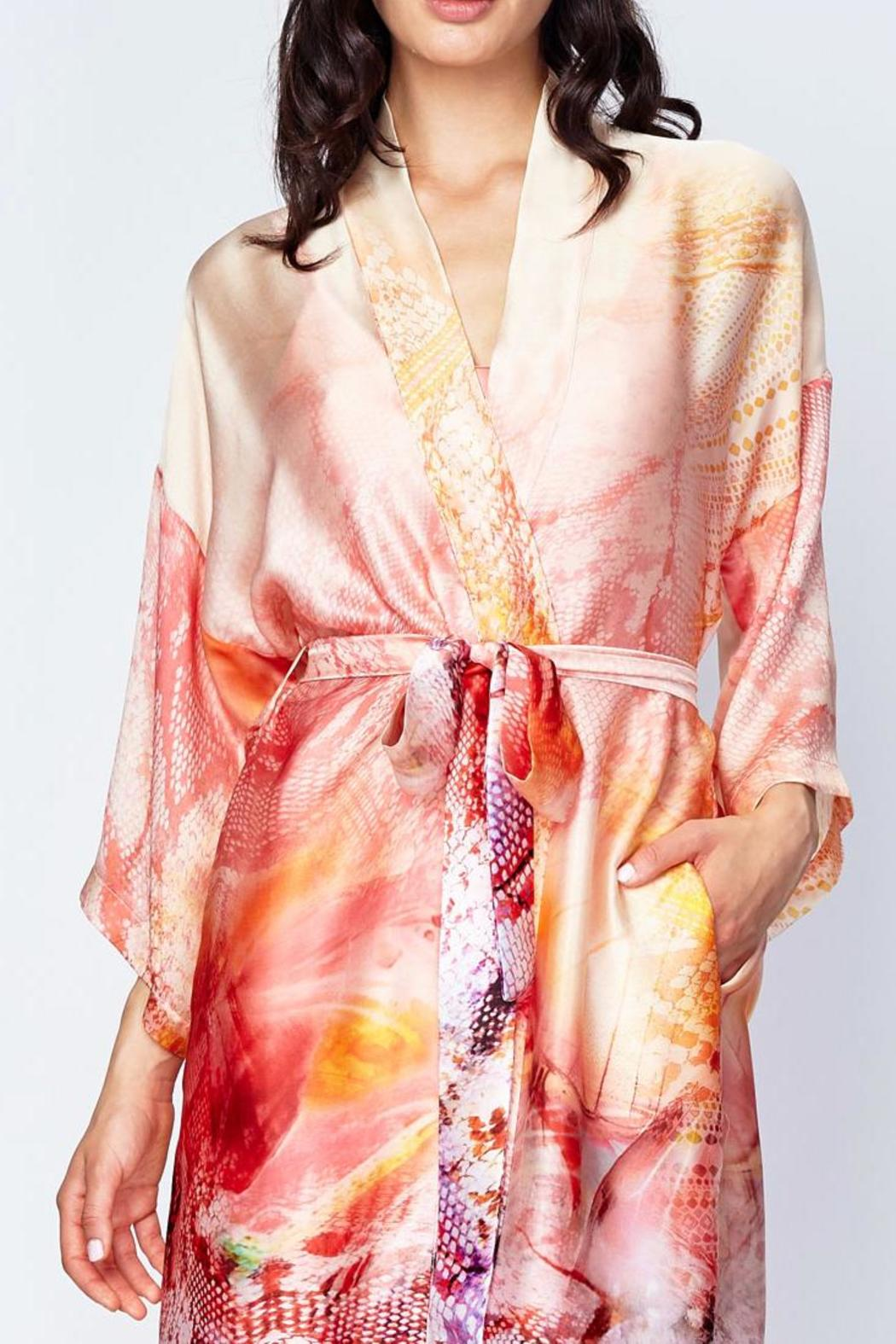 7cd3efc93d Christine of Vancouver Long Silk Robe from Canada by Esprit de la ...