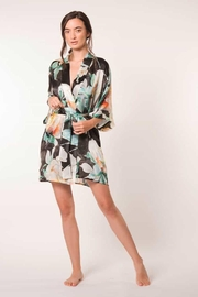 Christine of Vancouver Ophelia Silk Robe - Front cropped