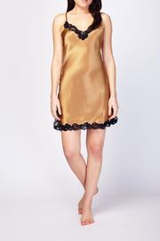 Christine of Vancouver Silk Chemise - Front full body