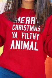 Wild Lilies Jewelry  Christmas Animal Sweater - Front cropped