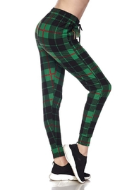 New Mix Christmas Flannel Jogger - Product Mini Image