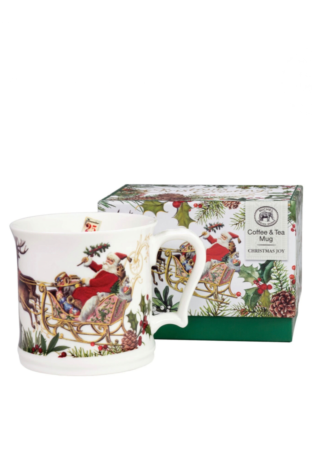 Michel Design Works Christmas Joy Coffee/Tea Mug 13.6floz - Front Cropped Image