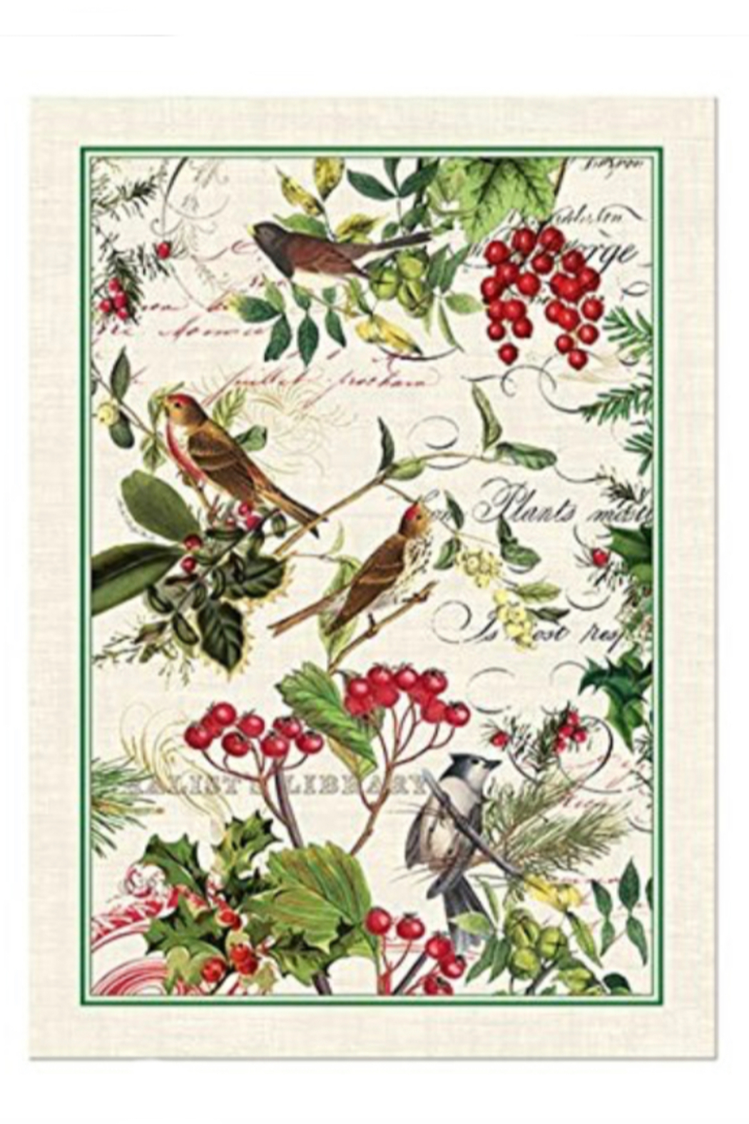 Michel Design Works Christmas Kitchen Towels - Front Cropped Image