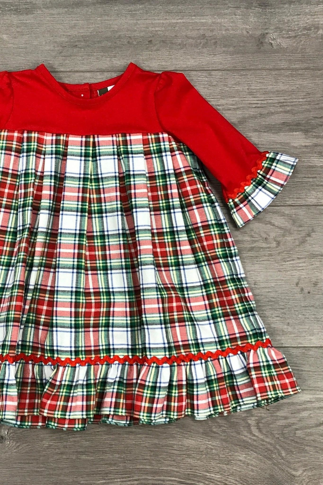 Banana Split Christmas Morning Dress - Front Full Image
