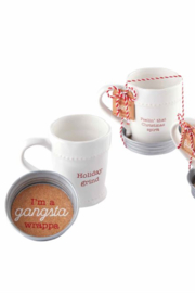 MudPie Christmas Mug & Coaster Sets - Product Mini Image