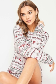 Fantastic Fawn  Christmas PJ Top - Side cropped