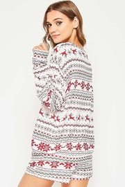 Fantastic Fawn  Christmas PJ Top - Front full body