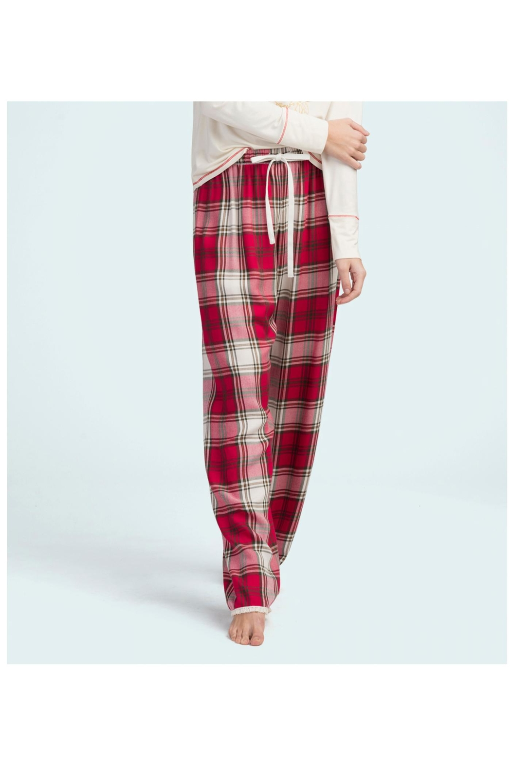 Hatley Christmas Plaid Pjpant - Main Image