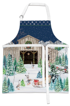 Michel Design Works Christmas Snow Apron - Product List Image