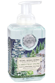 Michel Design Works Christmas Snow Foaming Soap - Front cropped