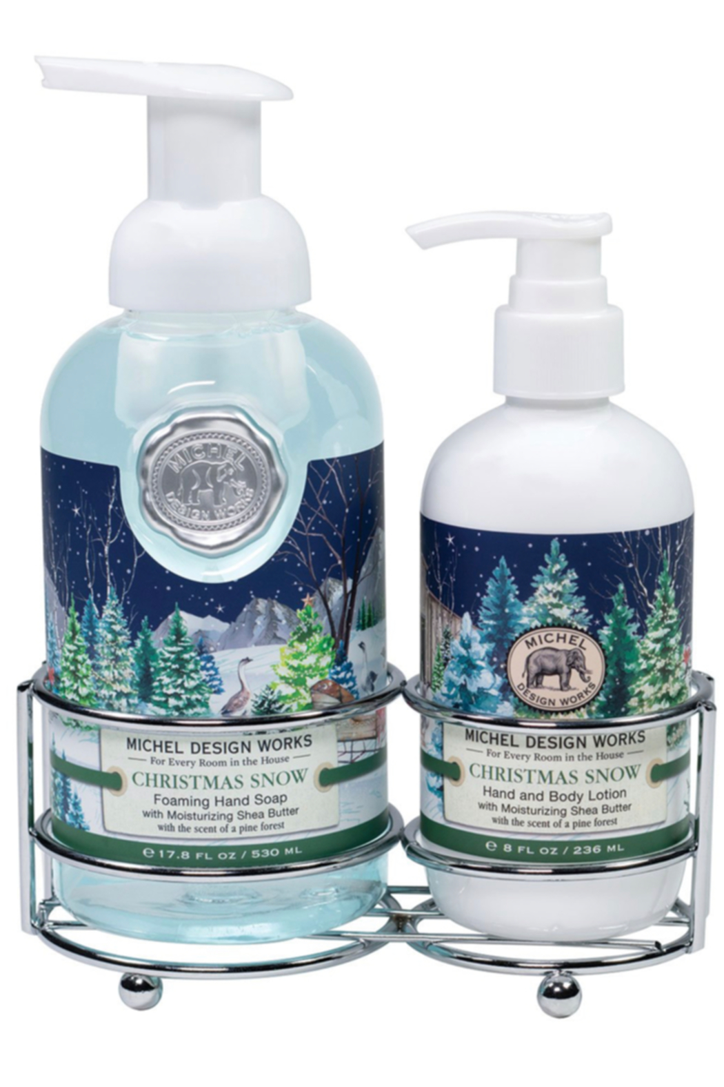 Michel Design Works Christmas Snow Hand-Care Caddy - Main Image