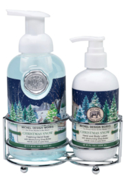 Michel Design Works Christmas Snow Hand-Care Caddy - Product Mini Image