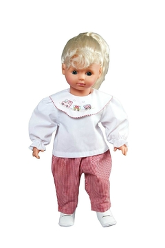 Shoptiques Product: Christmas-Train-Embroidered-Doll-Outfit