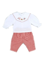 Rosalina Christmas-Train-Embroidered-Doll-Outfit - Side cropped