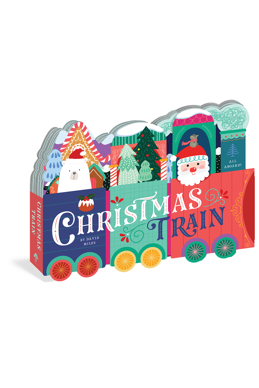 Workman Publishing Christmas Train - Front Cropped Image