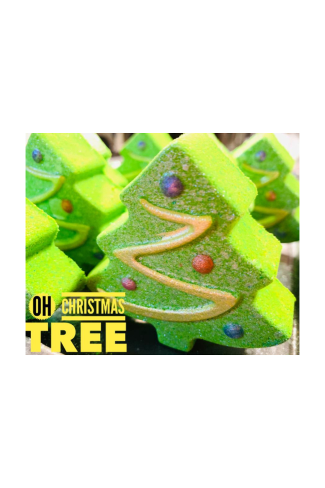 The Birds Nest CHRISTMAS TREE BATH BOMBS - Front Cropped Image