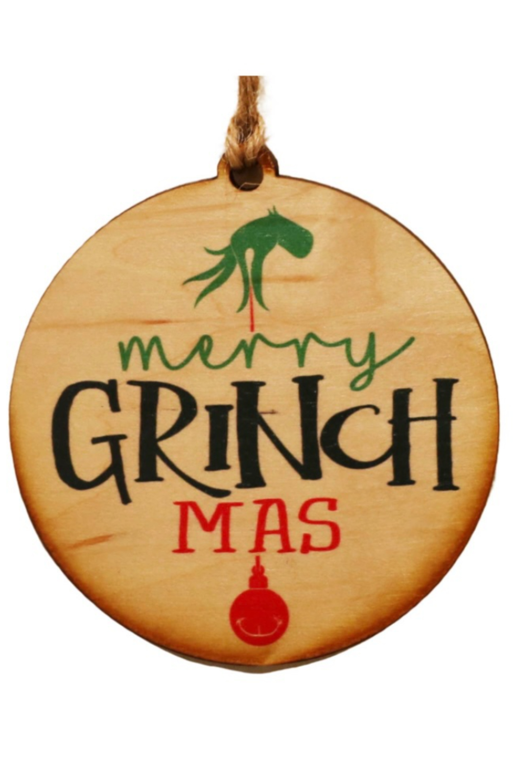 Kindred Mercantile  Christmas Wooden Ornaments - Front Cropped Image