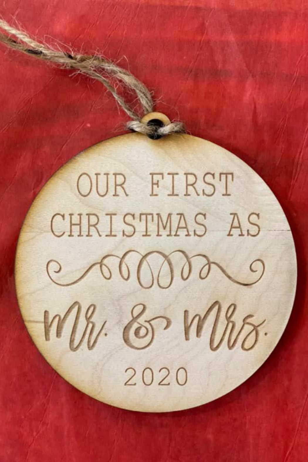 Kindred Mercantile  Christmas Wooden Ornaments - Main Image