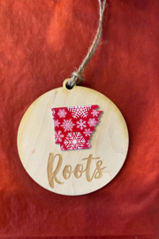 Kindred Mercantile  Christmas Wooden Ornaments - Front cropped