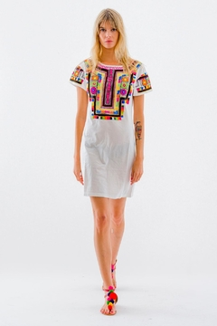 Christophe Sauvat Kusko Patch Shirt Dress - Product List Image