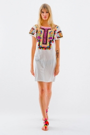 Christophe Sauvat Kusko Patch Shirt Dress - Product Mini Image