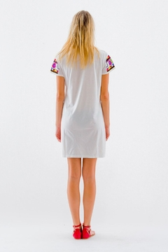 Christophe Sauvat Kusko Patch Shirt Dress - Alternate List Image
