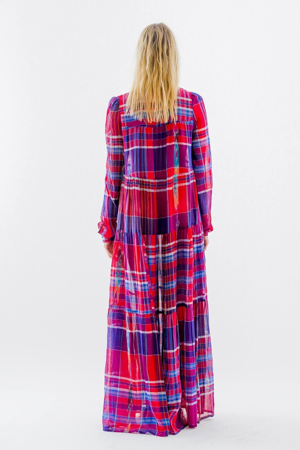 Christophe Sauvat Madras Camy Dress From California By Brigitte Amp Stone Shoptiques
