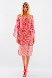 Christophe Sauvat Sagres Printed Dress - Product Mini Image