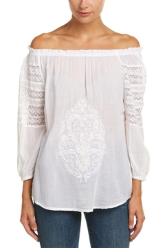 Christophe Sauvat White Lace Top - Product List Image
