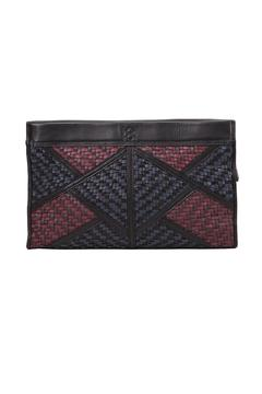 Christopher Kon Geo Patch Clutch - Product List Image