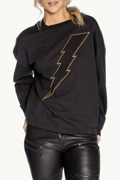 Shoptiques Product: Bolt Twist-Back Sweatshirt