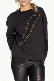CHRLDR Bolt Twist Back Sweatshirt - Front cropped